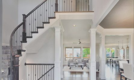Interior Stairs Designs for Two Story Home Fresh 2 Story Entry Way New Home Interior Design Open Floor