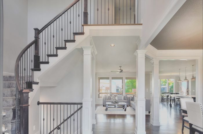 8 Special Interior Stairs Designs for Two Story Home Photos