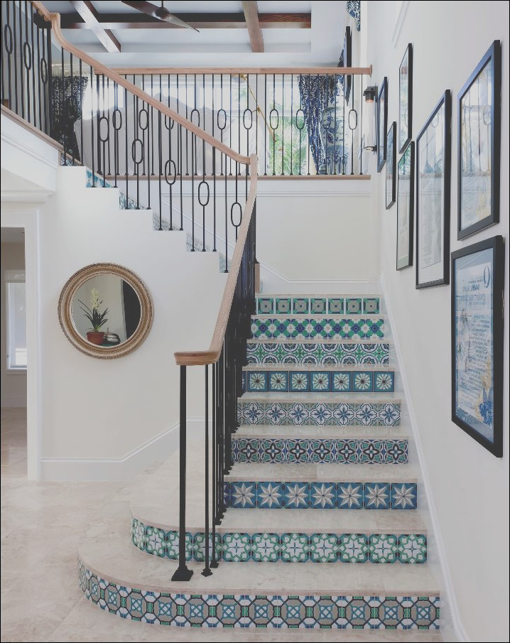 tiled staircases