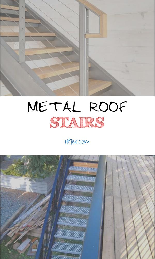 Metal Roof Stairs New 10 Superb Steel Roof Stairs Stairs Architecture