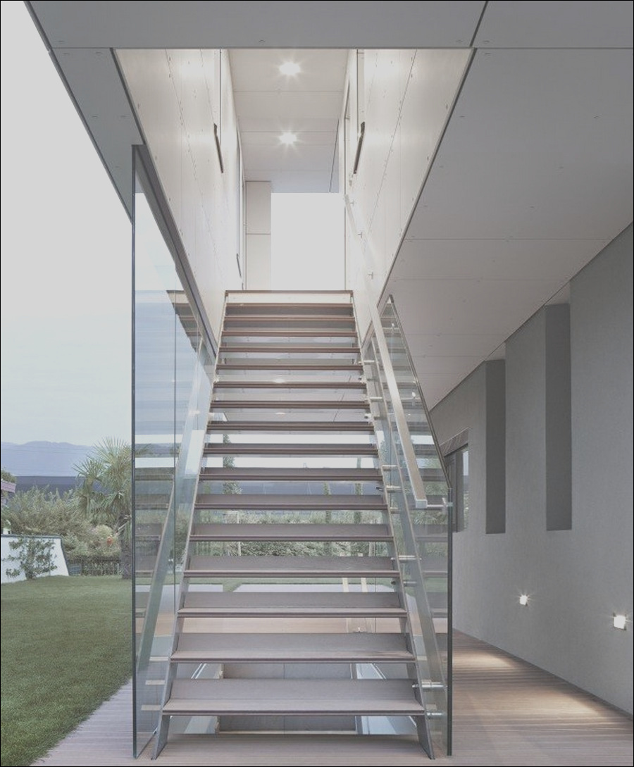 outside metal staircase modern