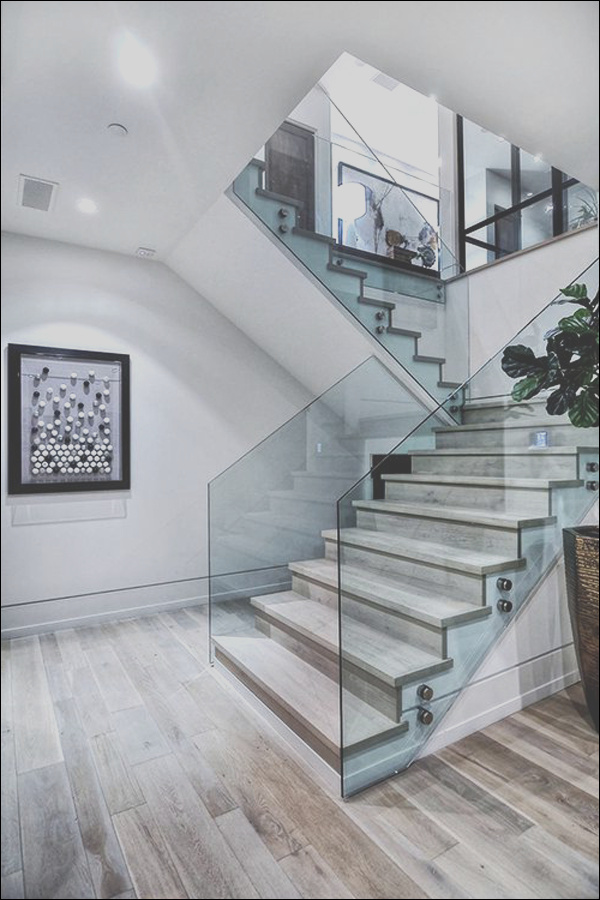20 modern and minimalist staircase designs