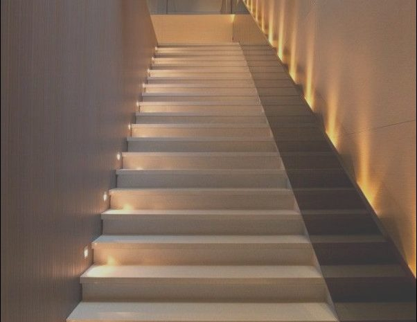 15 Flawless Modern Stairs with Lights Image