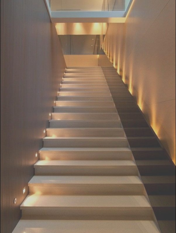 Modern Stairs with Lights Fresh 20 Beautiful Modern Staircases to Get Inspired Homaci