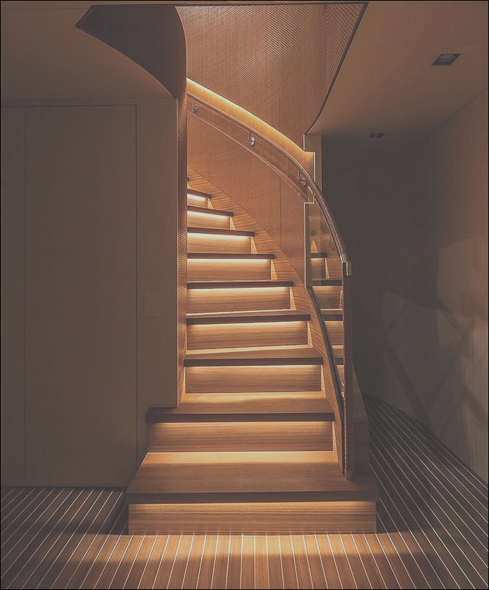 led stairs lighting ideas for modern
