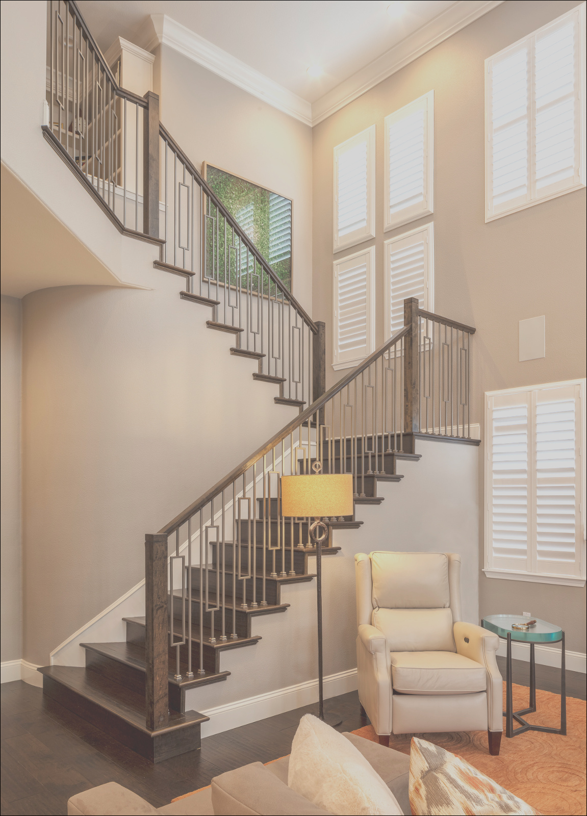 new takes on staircases and railings