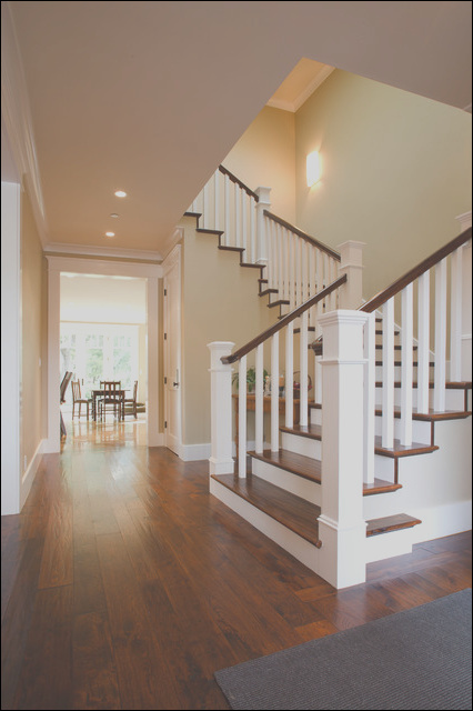 Craftsman New Home traditional staircase san francisco