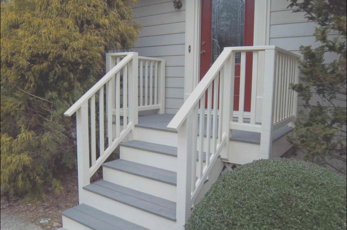 15 Practical Patio Stairs Design Photos