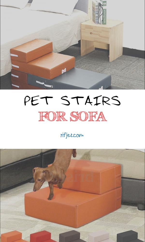 Pet Stairs for sofa Elegant Pet Cat Dog 2 Steps Stairs sofa Breathable Anti Slip