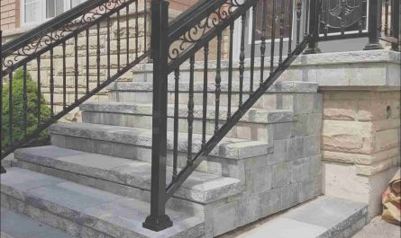Railings for Outdoor Stairs Ideas Elegant Aluminum Outdoor Stair Railings Railing System Ideas & Diy