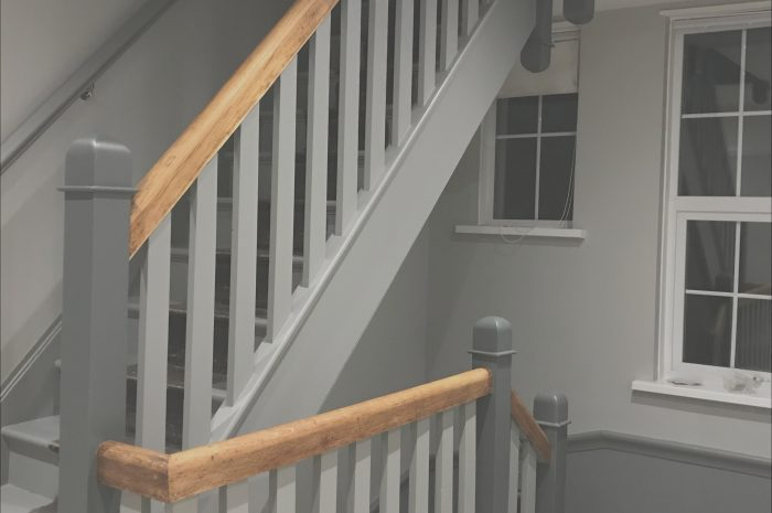 8 New Stairs and Landing Ideas Grey Photos