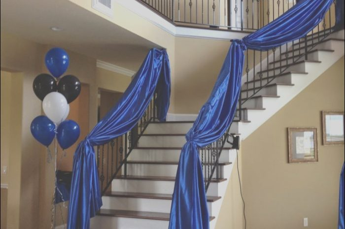 8 Fresh Stairs Decoration Ideas for Party Gallery