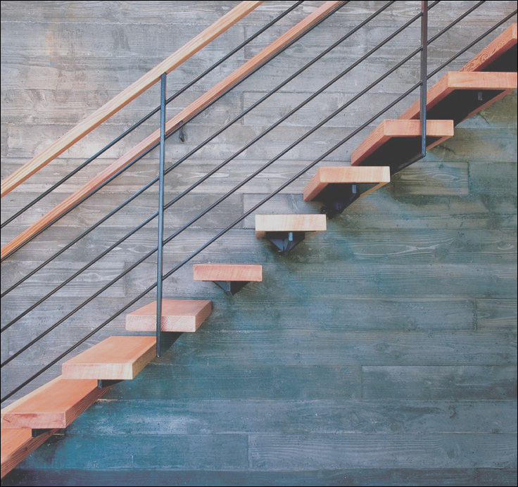 design details 10 cantilevered stairs