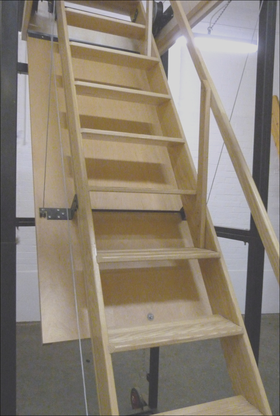 7863 attic pull down stairs heavy duty