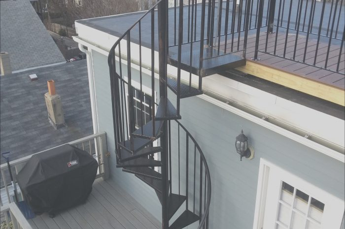 8 Cool Stairs for Roof Deck Photos