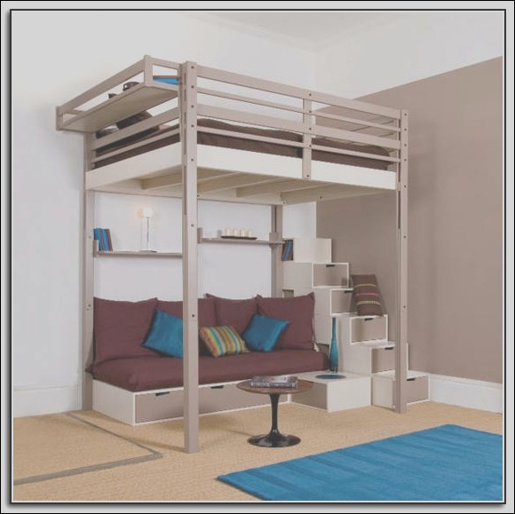 queen loft beds with stairs