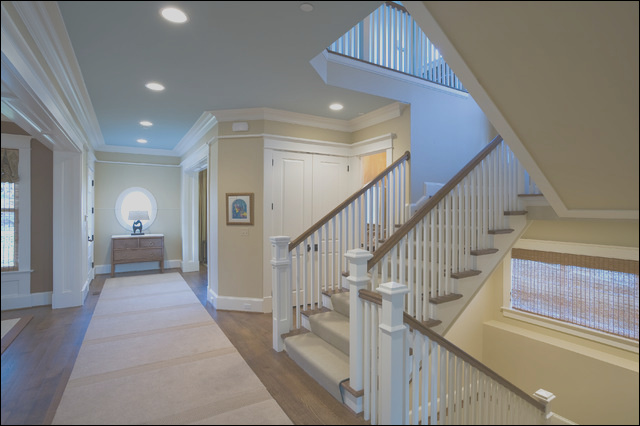 Stair Hall traditional staircase dc metro
