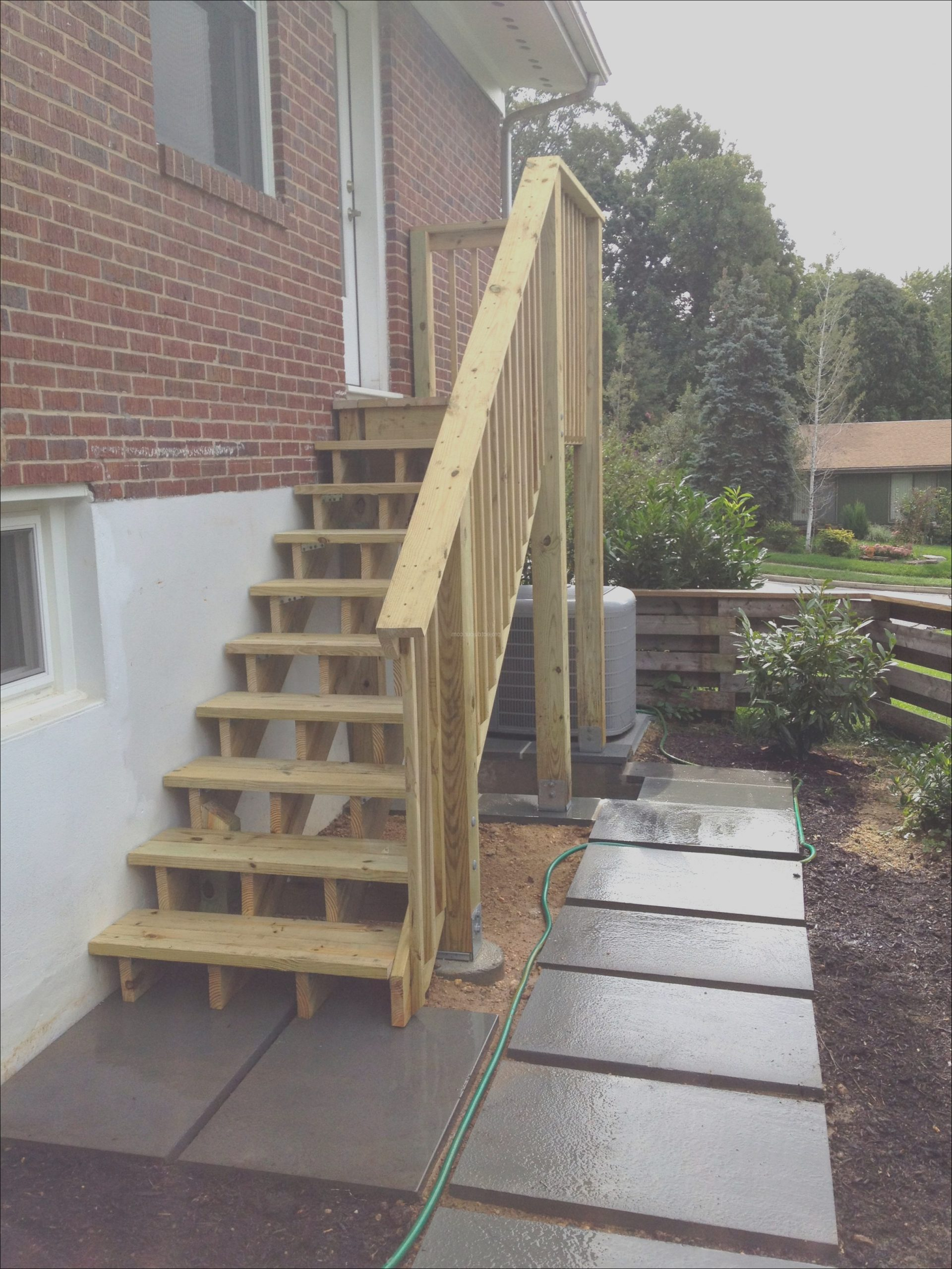 diy outdoor stairs