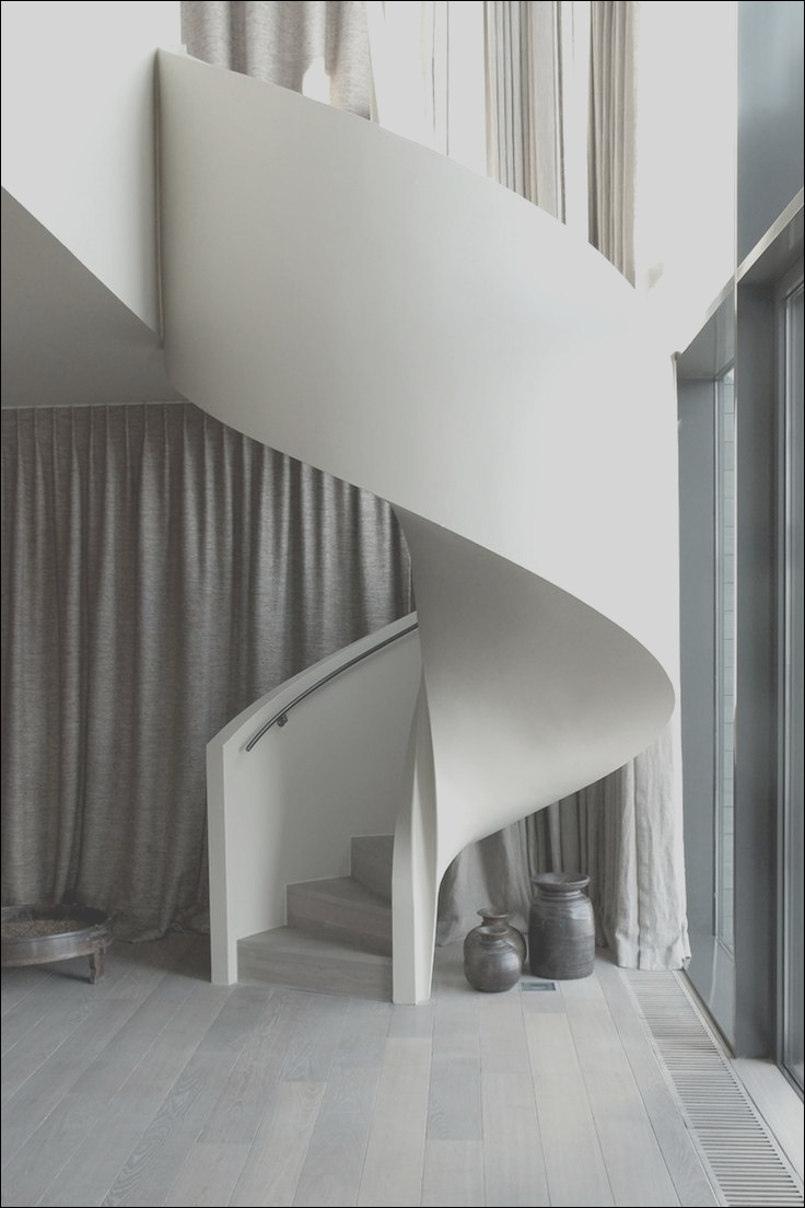 27 modern curved spiral staircases to melt over