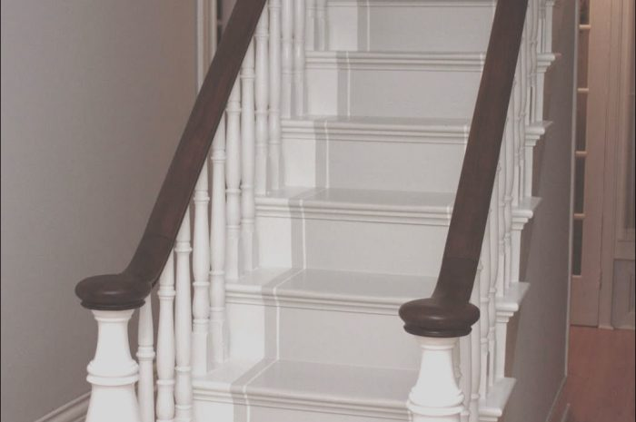 9 Flawless Stairs Paint Designs Photos