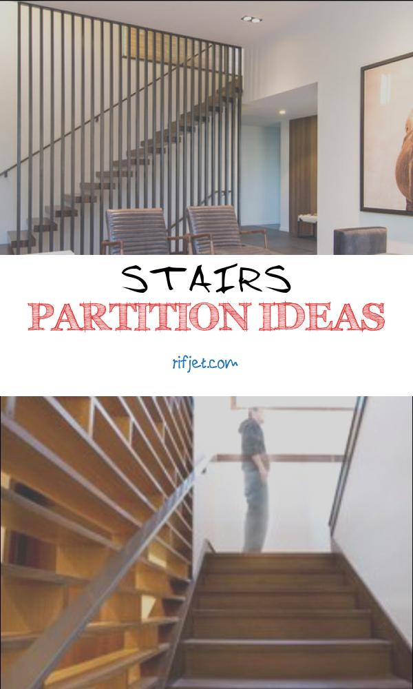 15 Glamorous Stairs Partition Ideas Image