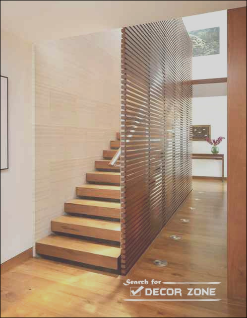 wooden stairs designs ideas