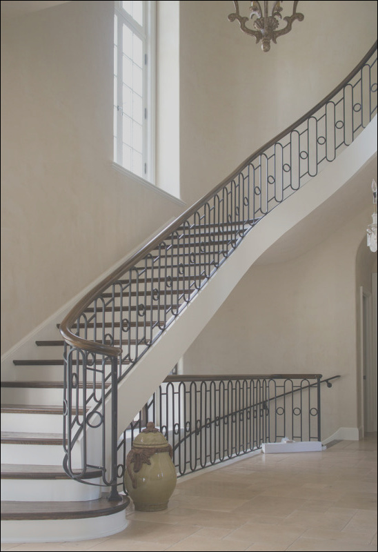wrought iron handrail systems