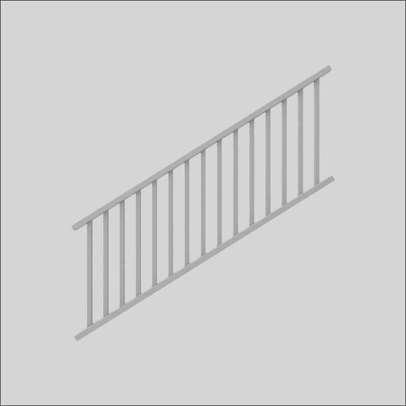 xpanse 3 ft h x 8ft w stair railing xpan1021