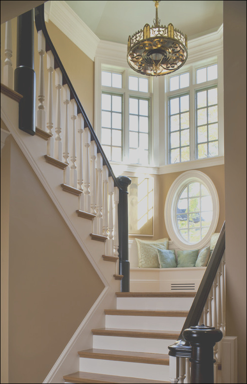 Help with a multi level staircase window