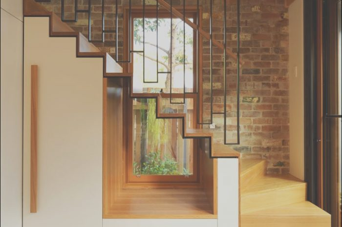 12 Elegant Stairs Windows Designs Image
