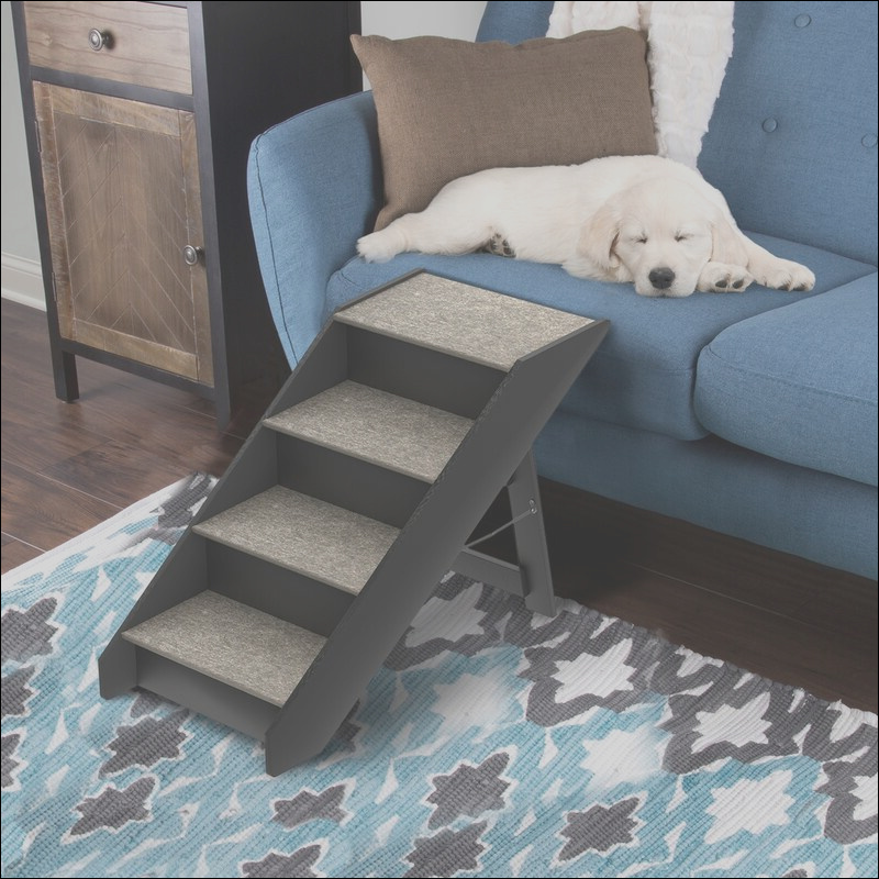 petmaker folding 4 step pet stair obzq1025