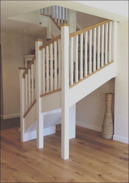double winder staircase design