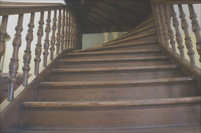 11 Natural Wooden Stairs Creaking Photos