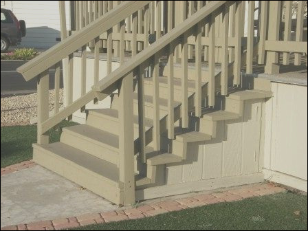 what type of mobile home steps do i need