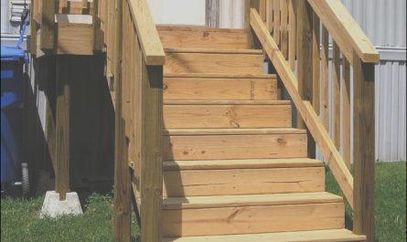 Wooden Stairs for Mobile Home Luxury Exterior Stairs for Mobile Homes