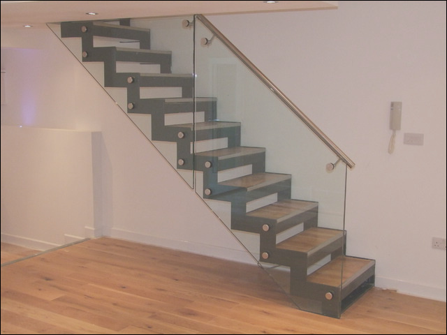 Zig Zag Design Staircase modern staircase london