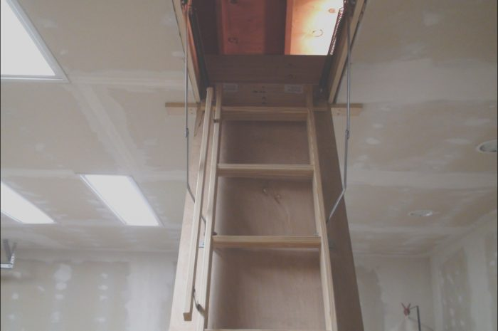 8 Latest Aluminum Vs Wooden attic Stairs Image