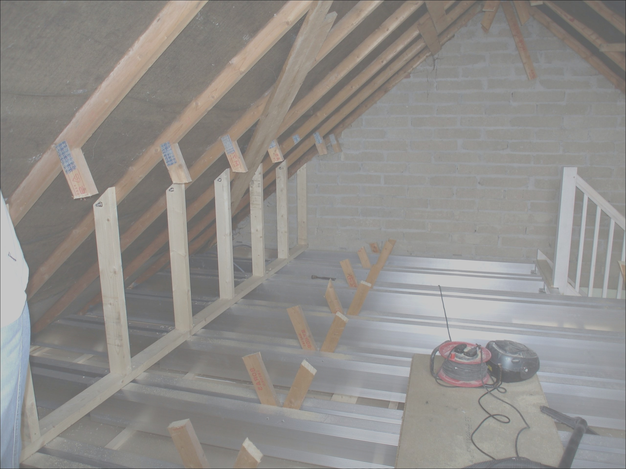 15 expensive cutting roof trusses for attic stairs gallery