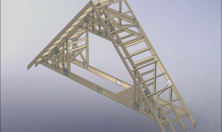 Attic Stairs for Truss Roof Beautiful How Do You Frame Stairs with attic Trusses