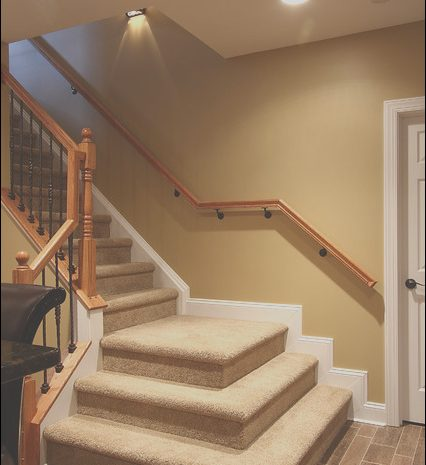 15 Outstanding Basement Stairs Design Image