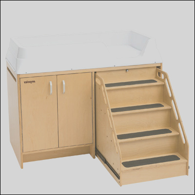 AEL7550 changing table with stairs