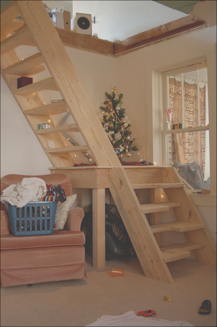 staircase for loft space