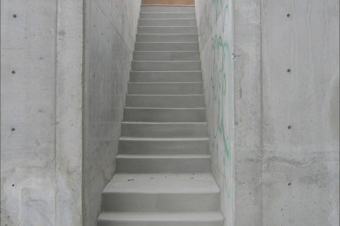 8 Exotic Contemporary Concrete Stairs Photos
