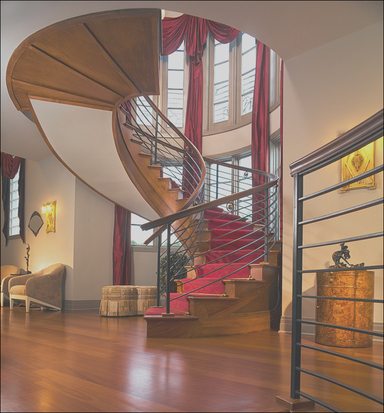 foyers stairs entries and hallways contemporary staircase orlando phvw vp