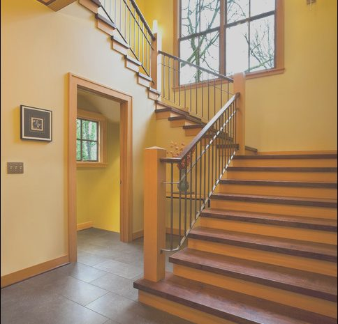 13 Glamorous Contemporary Hallway Stairs Images