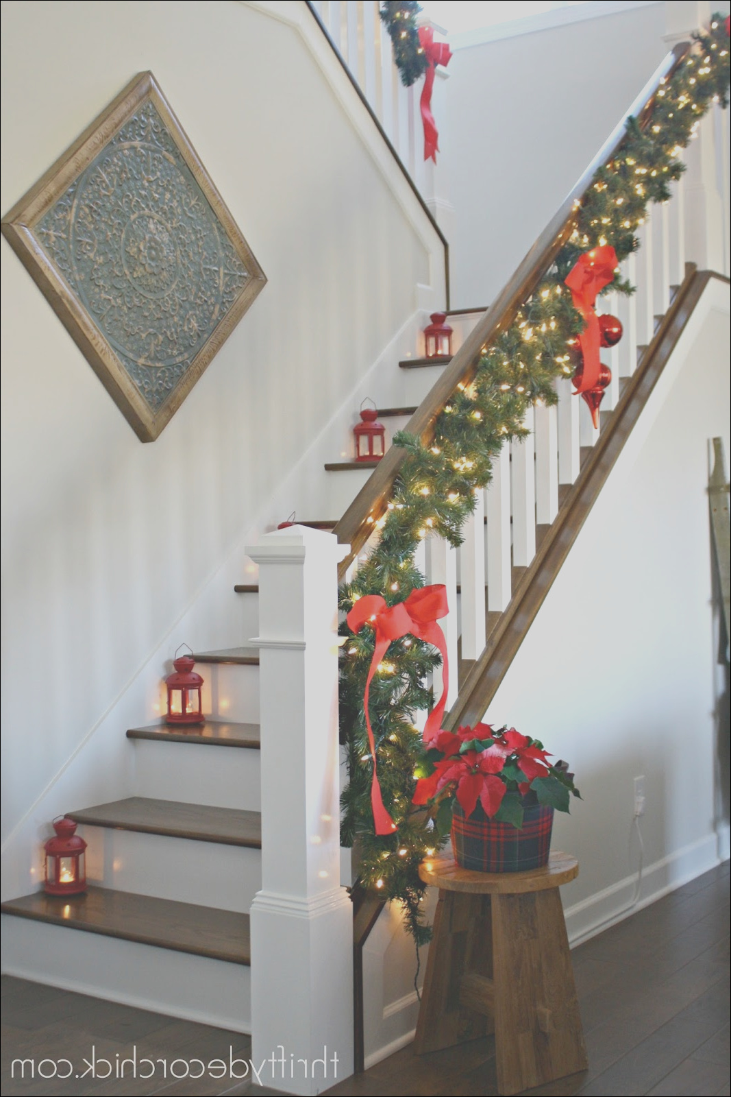 our christmas staircase