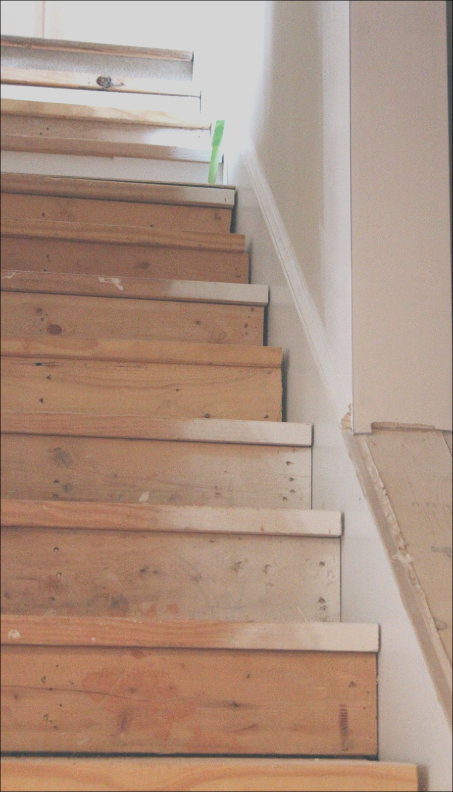 this is the best idea for updating stairs on a bud totally doing this once our outdoor projects are done
