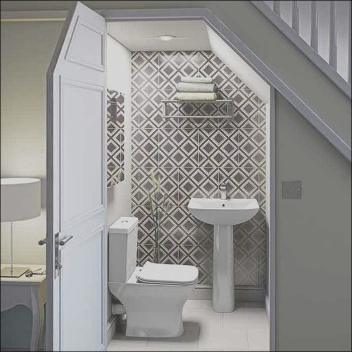 toilets bathroom built in under staircases