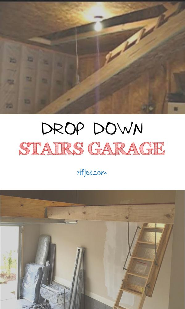Drop Down Stairs Garage New Hide Away Electric Drop Down Stairs