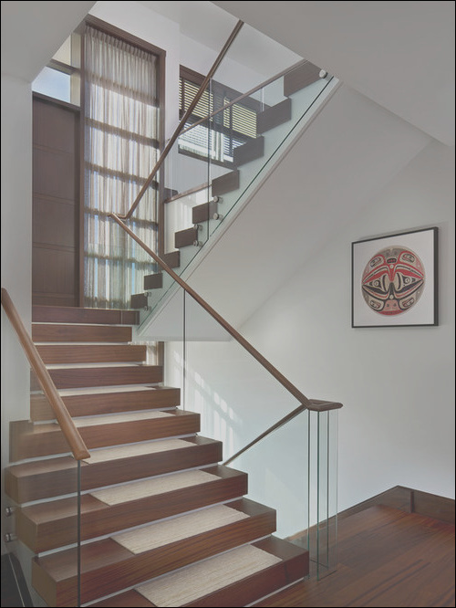 enclosed staircase